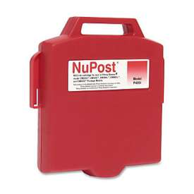 Compatible cartridge NuPost NPT400 for Pitney Bowes 765-3 - fluorescent red