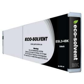 Compatible inkjet cartridge for Roland ESL3-4BK - eco-sol max black