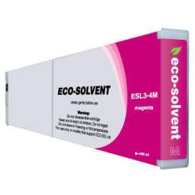 Compatible inkjet cartridge for Roland ESL3-4M - eco-sol max magenta